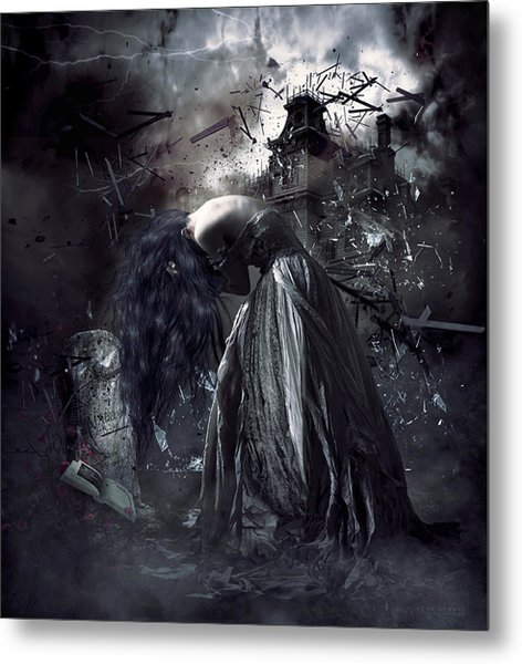 Fall Of The House Of Usher Metal Print
