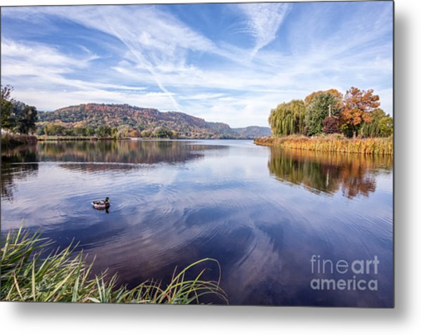 Metal Print featuring the photograph Fall Perfection by Kari Yearous