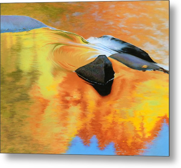 Fall Reflections Metal Print by Bruce Richardson
