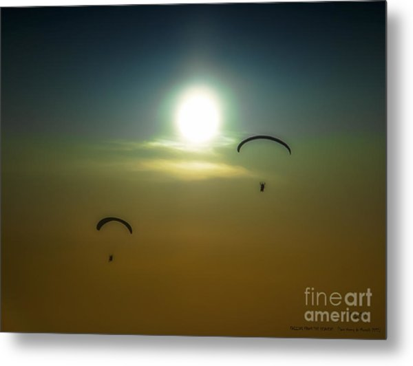 Falling From The Heavens Metal Print