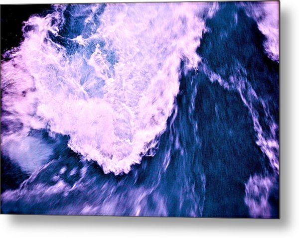 Metal Print featuring the photograph Falls Abstract by HweeYen Ong