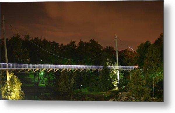 Falls Bridge Metal Print