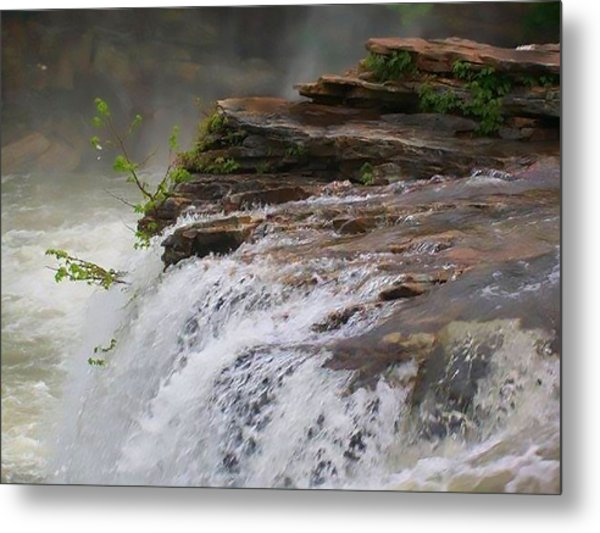 Falls Of Alabama Metal Print