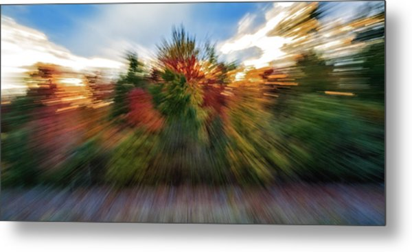 Metal Print featuring the photograph Falls Rush by Michael Hubley