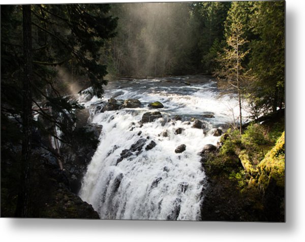 Waterfall Magic Metal Print