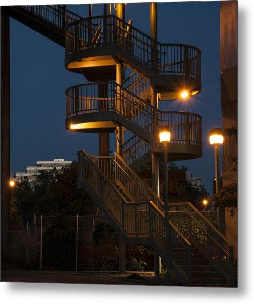False Creek Stairway Metal Print
