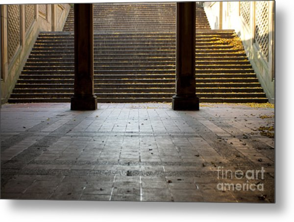 Familiar Steps Metal Print