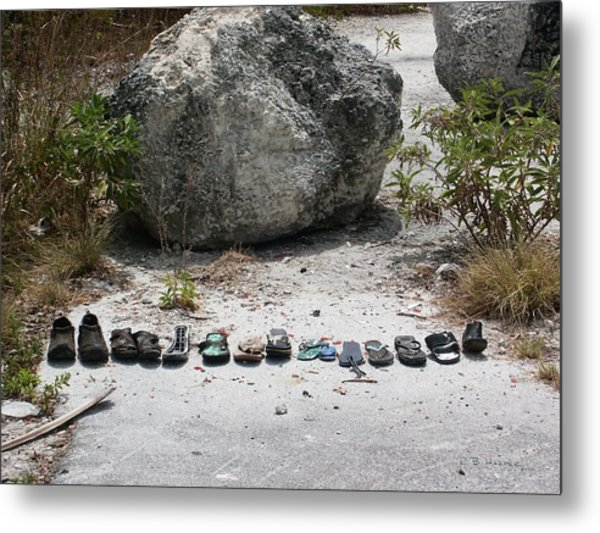Famous Footwear Of The Keys Metal Print