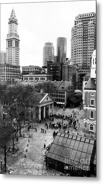 Faneuil Hall Marketplace Metal Print