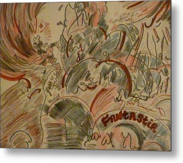 Fantasia Metal Print