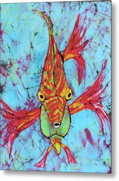Fantasy Fish Metal Print