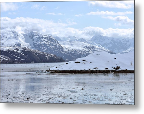 Fantasy In Ice Metal Print by Judith Russell-Tooth