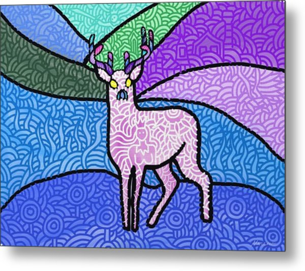 Fantasy In The Wild Metal Print