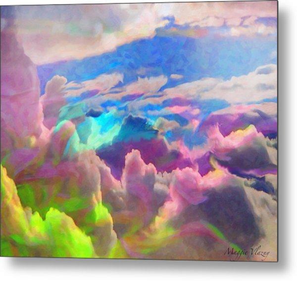 Abstract Fantasy Sky Metal Print