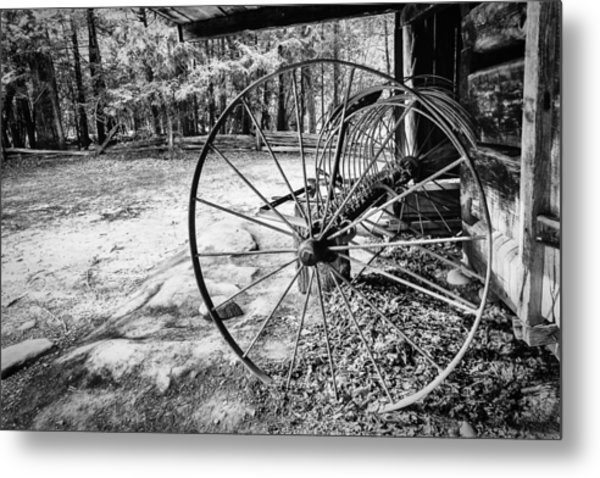 Farm Equipment Metal Print