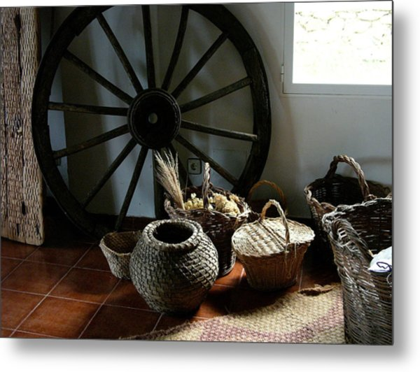 Farmers Decor Metal Print