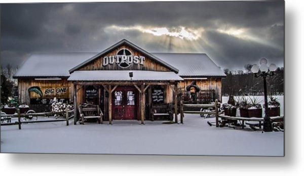 Farmers Inn Outpost Metal Print