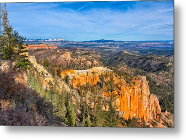 Metal Print featuring the photograph Farview Point Tableau by John M Bailey