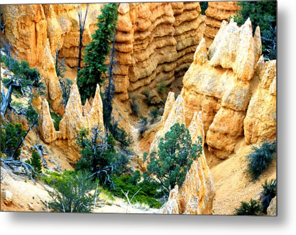 Faryland Canyon Bryce Canyon National Monument Metal Print