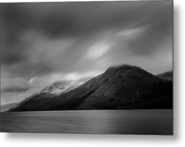 Fast Clouds Over Loch Ness Metal Print