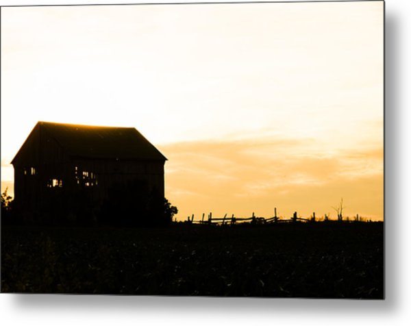 Father's Field Metal Print by BandC  Photography