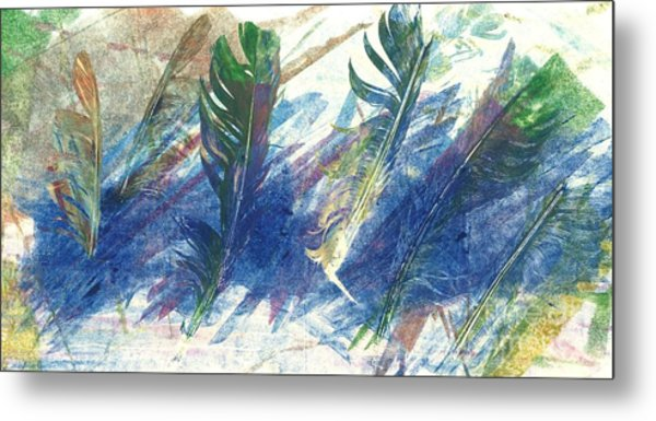 Feather Dance Metal Print