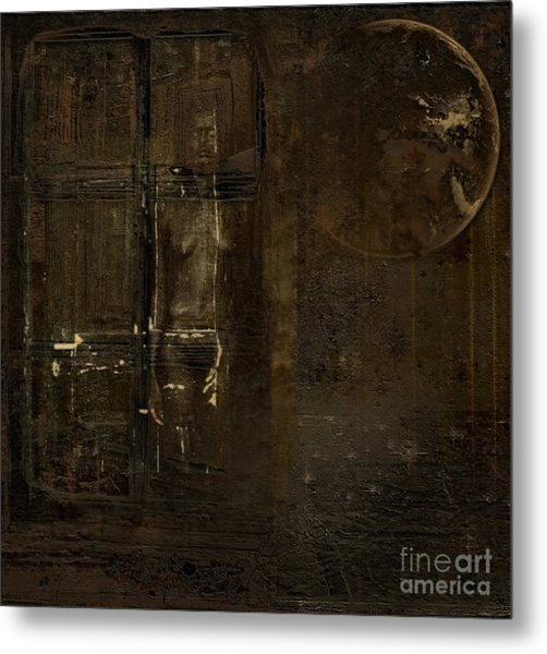 Feeling Invisible Metal Print