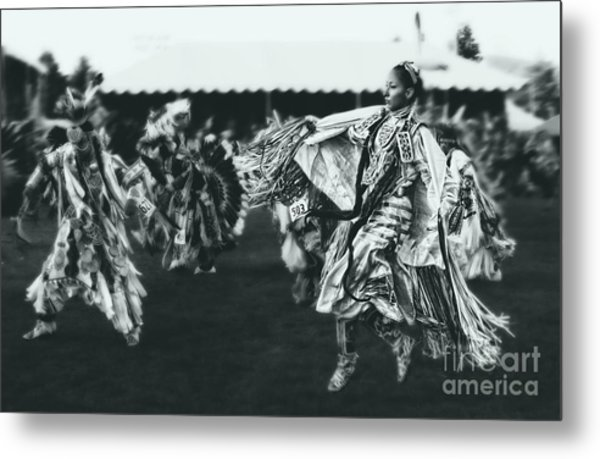Female Fancy Dancer Metal Print by Scarlett Images Photography