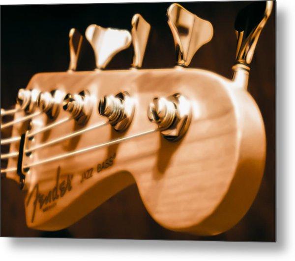 Fender Jazz Metal Print