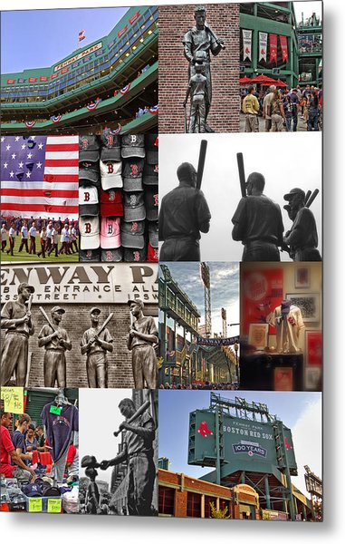 Fenway Memories Metal Print