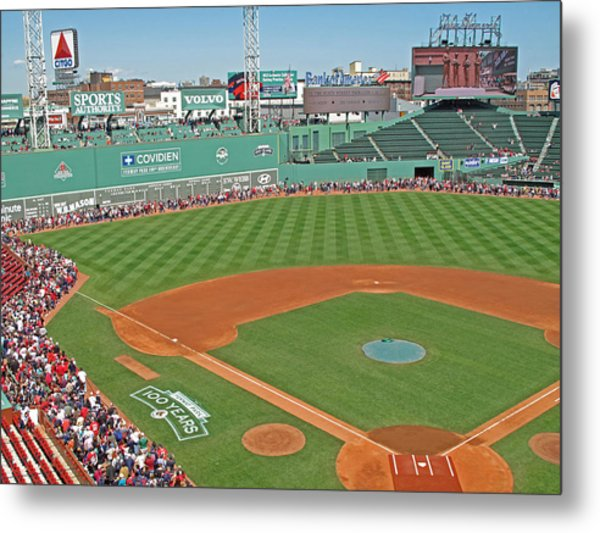 Fenway One Hundred Years Metal Print