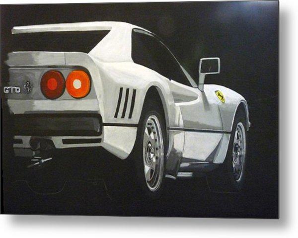 Ferrari 288 Gto Metal Print