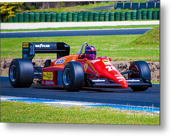 Ferrari At Phillip Island Metal Print
