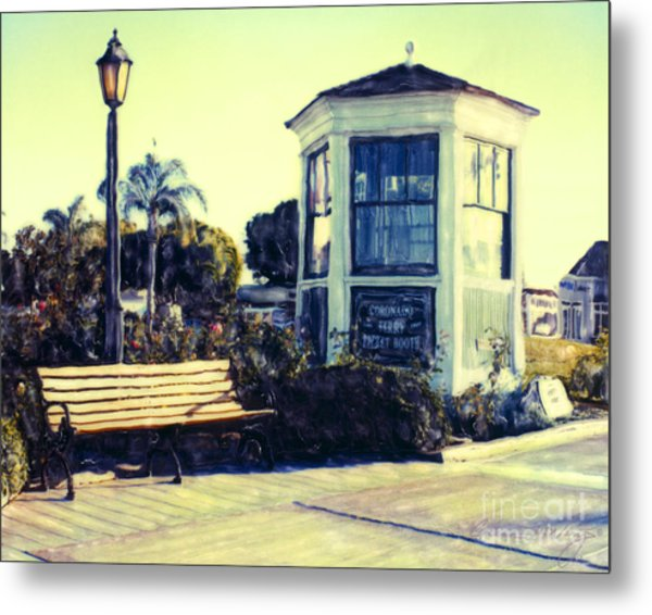 Ferry Landing Afternoon Metal Print