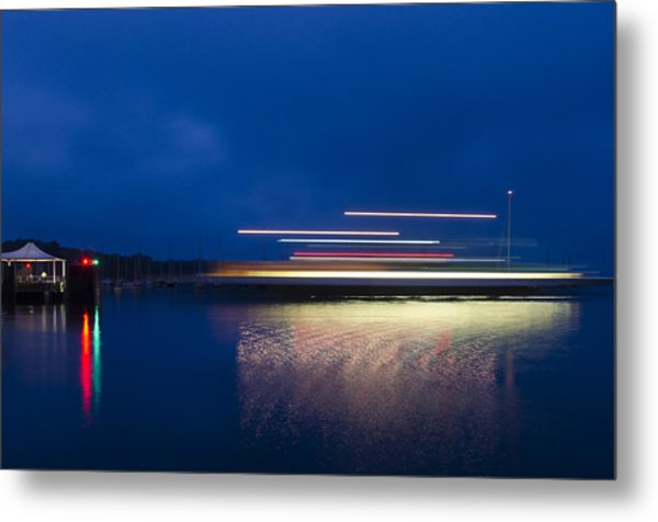 Ferry Light Metal Print