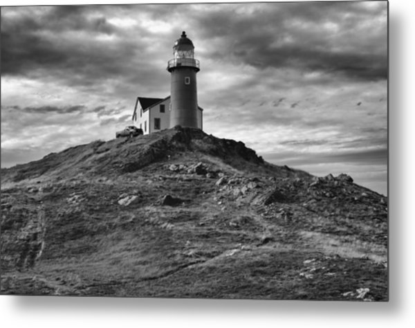Ferryland Lighthouse Metal Print