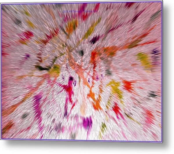 Festival Of Colours Metal Print