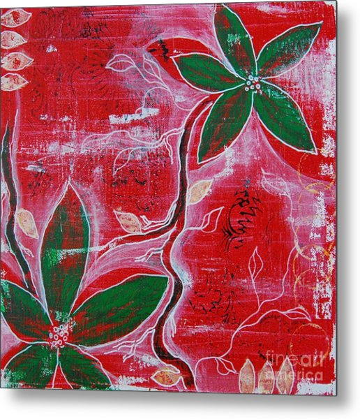 Festive Garden 1 Metal Print