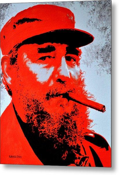 Fidel Castro Metal Print