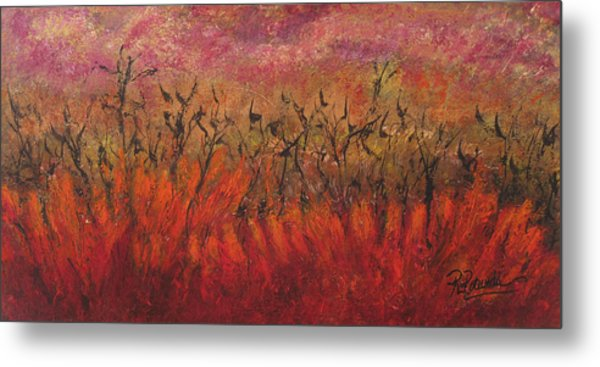 Field Dance Metal Print