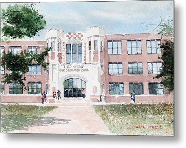 Field Kindley Memorial High School Metal Print