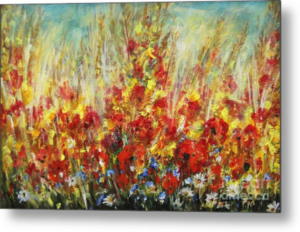 Fields Of Dreams II Metal Print