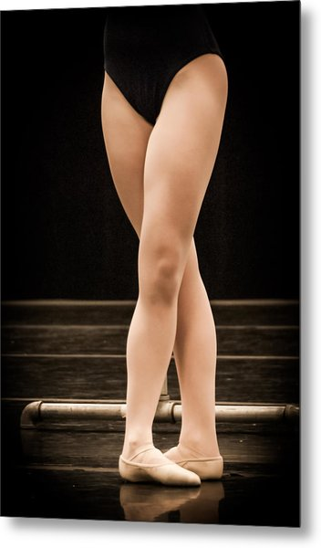 Fifth Position Metal Print