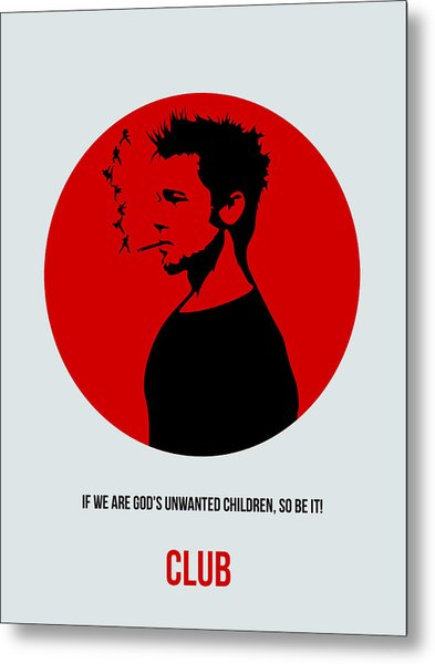 Fight Club Poster 2 Metal Print