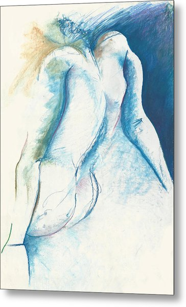 Figurative Abstract Metal Print