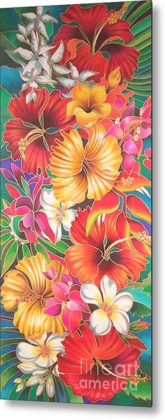 Fiji Flowers IIi Metal Print