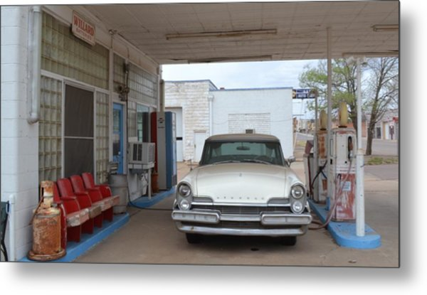 Fill Er Up Metal Print