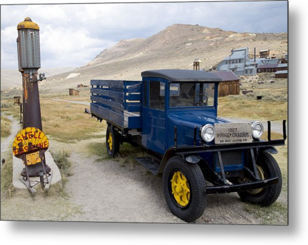 Fill 'er Up In Bodie Metal Print