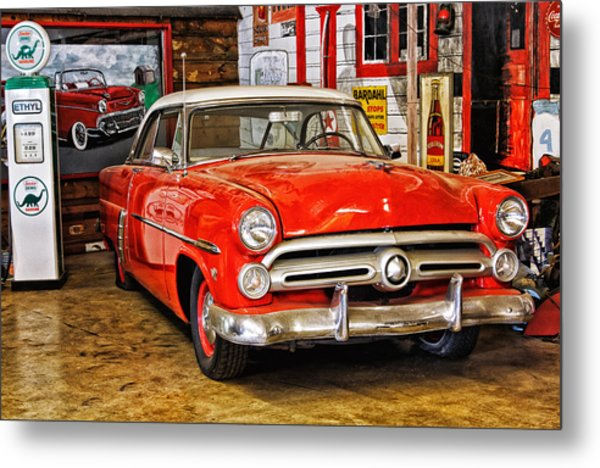 Fill Her Up Metal Print