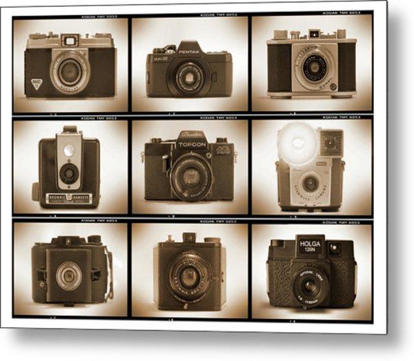 Film Camera Proofs 3 Metal Print